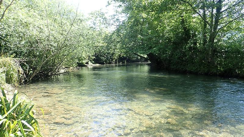 rivière des pyrénées-atlantique